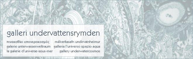 Galleri Undervattensrymden