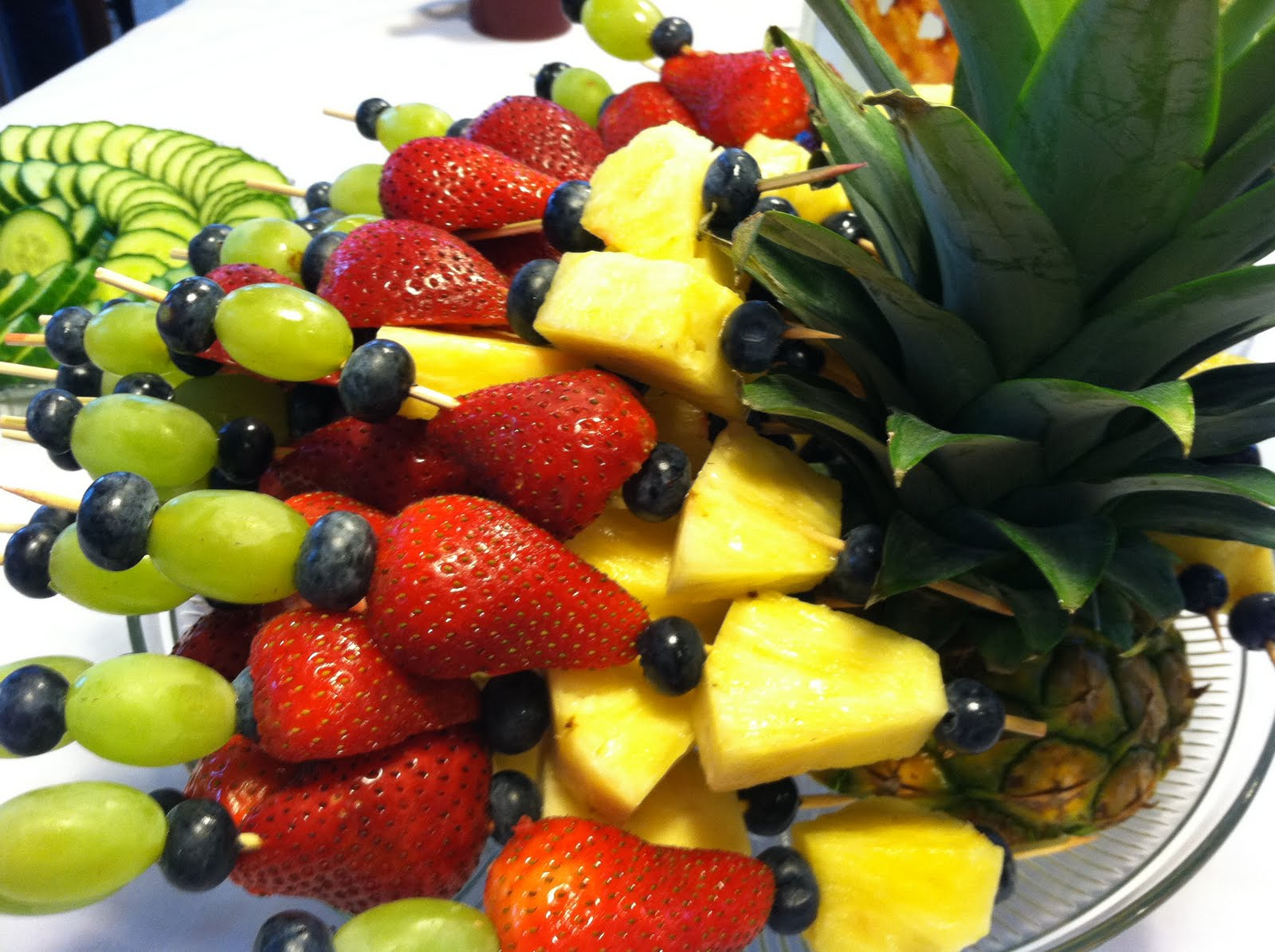 recipe: fruit kabob display ideas [31]