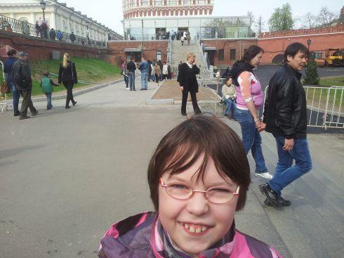 Вход в Кремль через Кутафью башню