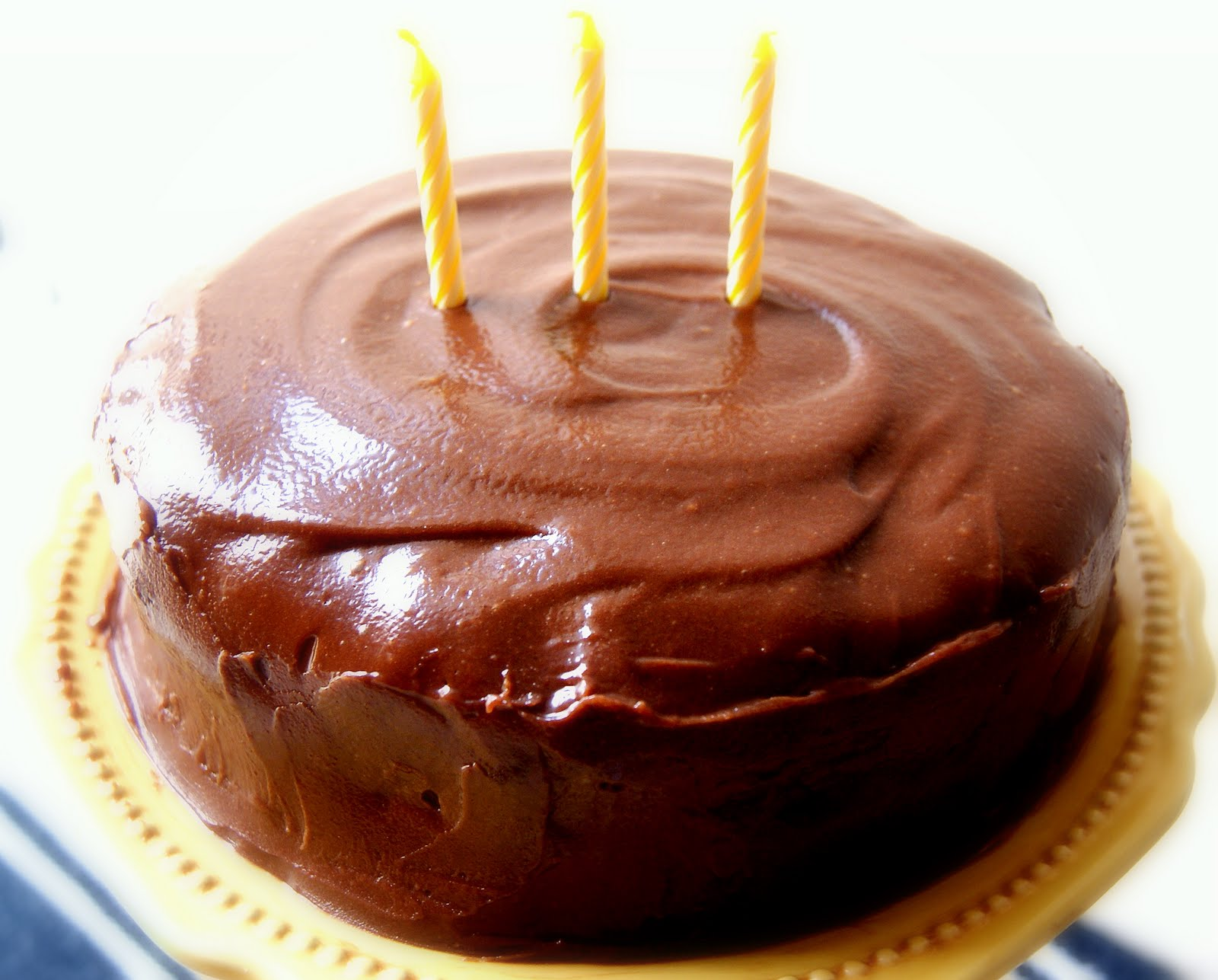 Chocolate Birthday Cake, Chocolate Cake, Birthady Cake