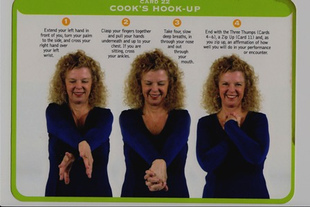 donna eden cooks hook up Try cook's hook-up as illustrated below and taught in my book, feeling free it feels great for frequent hyper-arousal, do it many times a day.