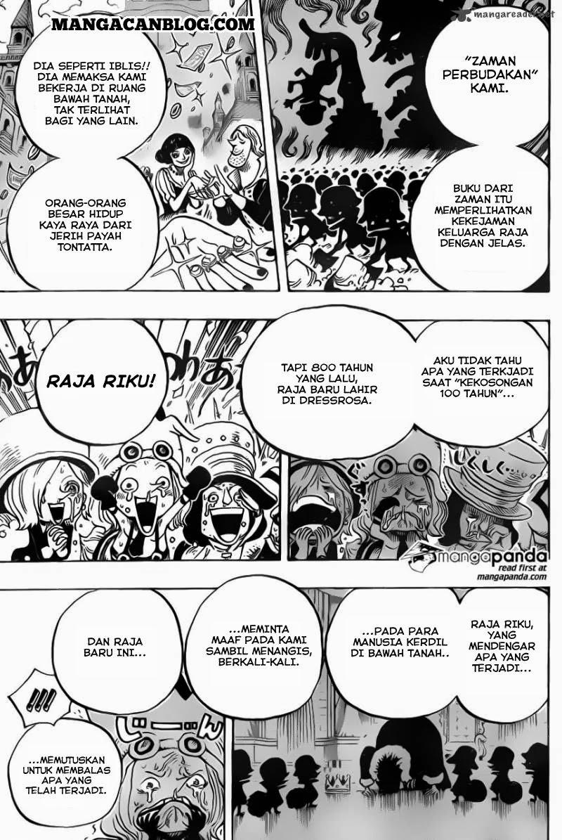 Komik one piece 726 - keluarga riku 727 Indonesia one piece 726 - keluarga riku Terbaru 15|Baca Manga Komik Indonesia|Mangacan