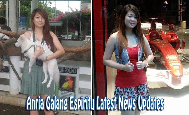 Anria Galang Espiritu Story and Summary of Latest News Updates