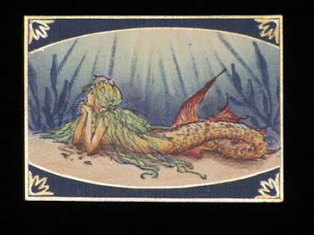 Pensive Mermaid ATC