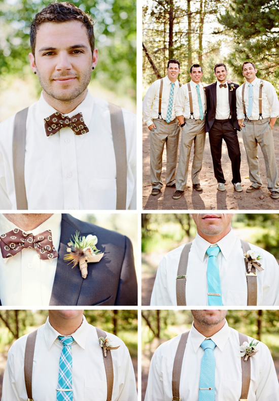 Accessori per lo sposo, groom suspenders