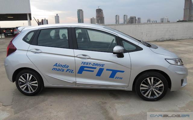 Honda Fit 2016 EX - Prata