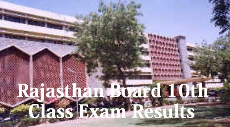 Rajasthan Board 10th Class Exam Results
