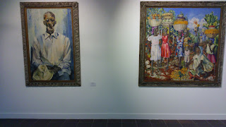 Obra realista de Godlewska, influencia de su estancia en Haití