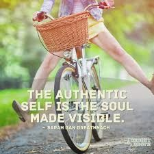 ...authentic self
