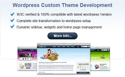 customize wordpress theme for business