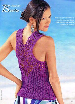 TOP BELLISIMO A CROCHET