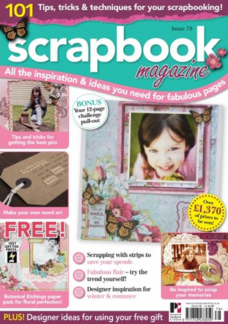 Design Team Member Scrapbook Magazine