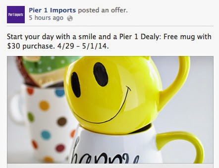 Pier 1 Imports Printable Coupon