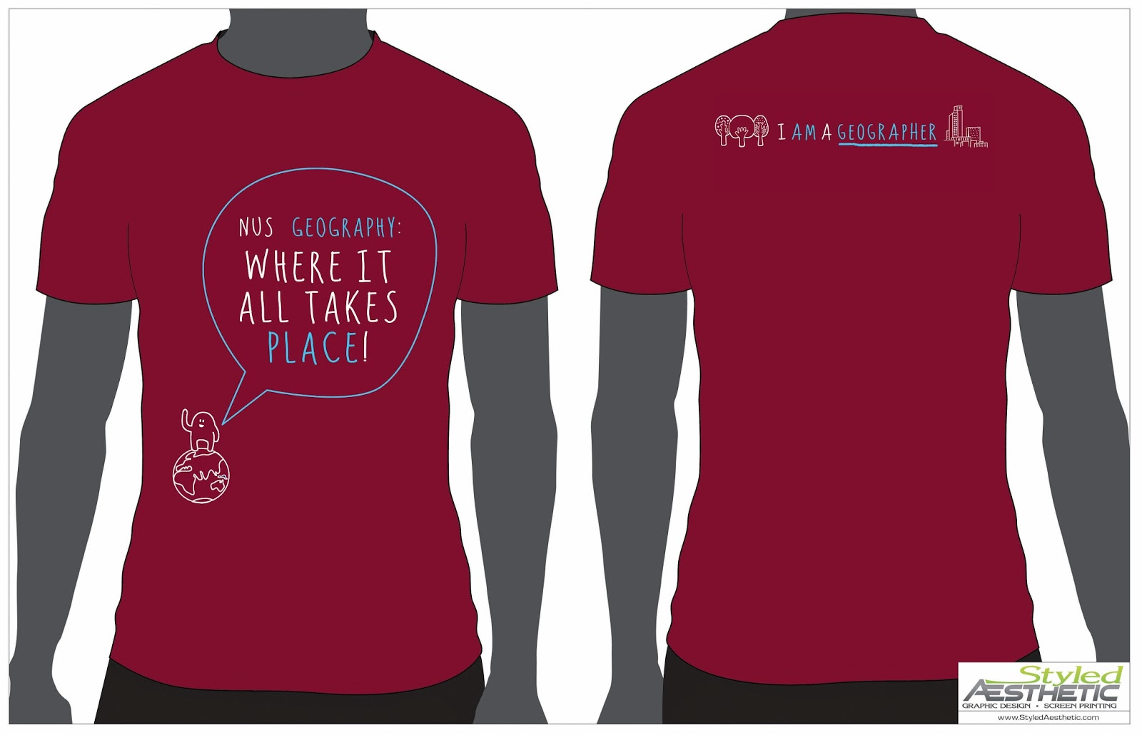 T shirt design keep calm - Also Due To Popular Positive Feedback We Will Be Re Printing The Keep Calm And Geog On Majors T Shirt From Ay2011 2012 Orders For The Keep Calm And