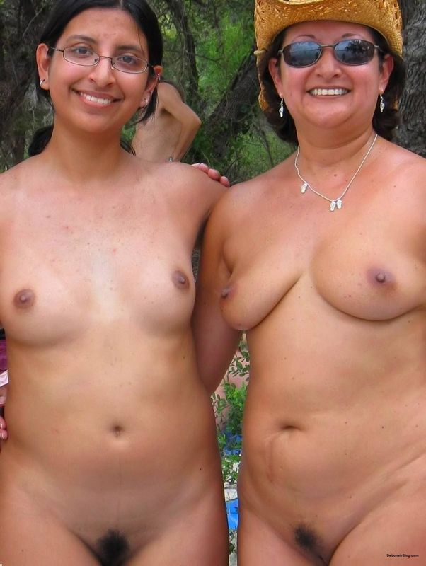 Muslim indian nudist in nude beach