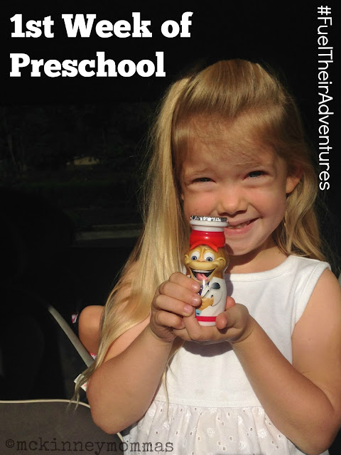 preschool, smoothie, dannon, danimals #ad