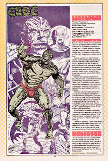 Killer Croc DC comic