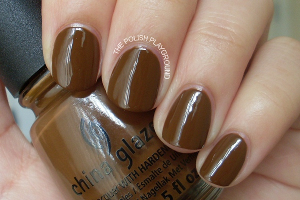 China Glaze Mahogany Magic