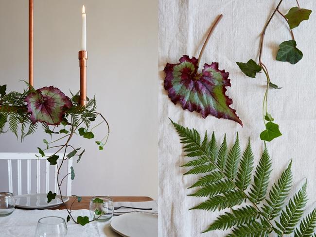 Boho deco chic decora con plantas naturales una mesa de - Plantas ikea naturales ...