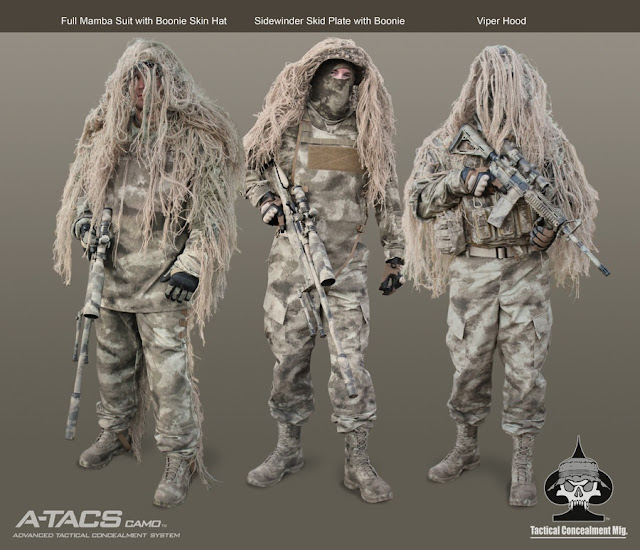 Nuevo patrón de camo A-TACS+Tactical+Concealment