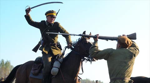 Scene de bataille de Varsovie