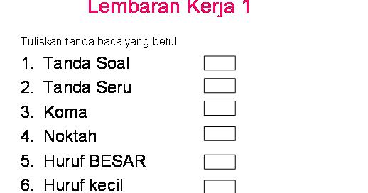 Bahasa Melayu Sekolah Rendah Rancangan Pengajaran Harian