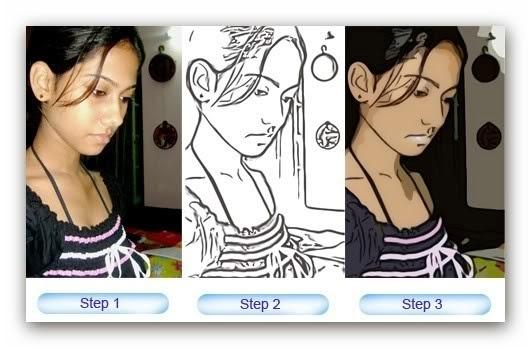 Cara Konversi Foto Menjadi Kartun Dan Gambar Sketsa