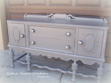 stunning vintage sideboard