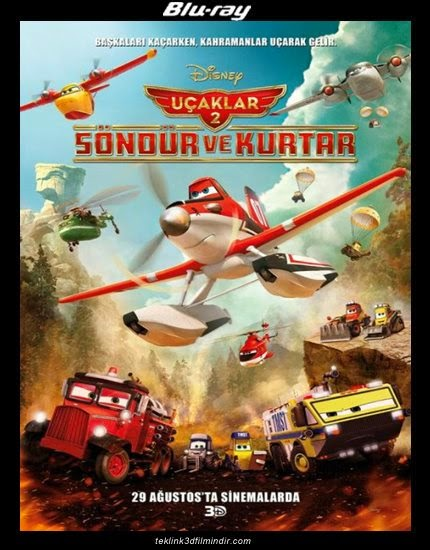 Planes: Fire & Rescue - Uçaklar 2: Söndür ve Kurtar (2014) afis