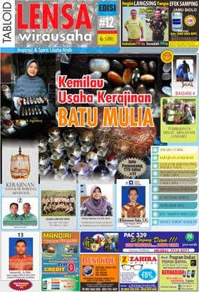Tabloid LENSA Wirausaha #12
