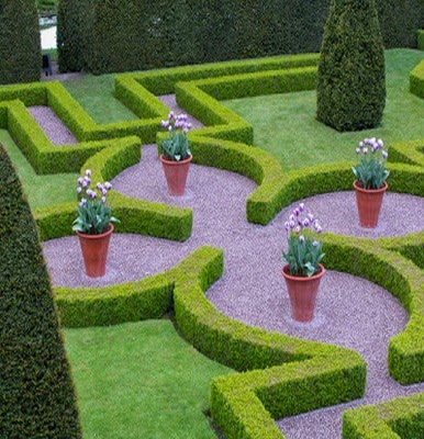 Desain Taman Rumah Elit dan Elegan