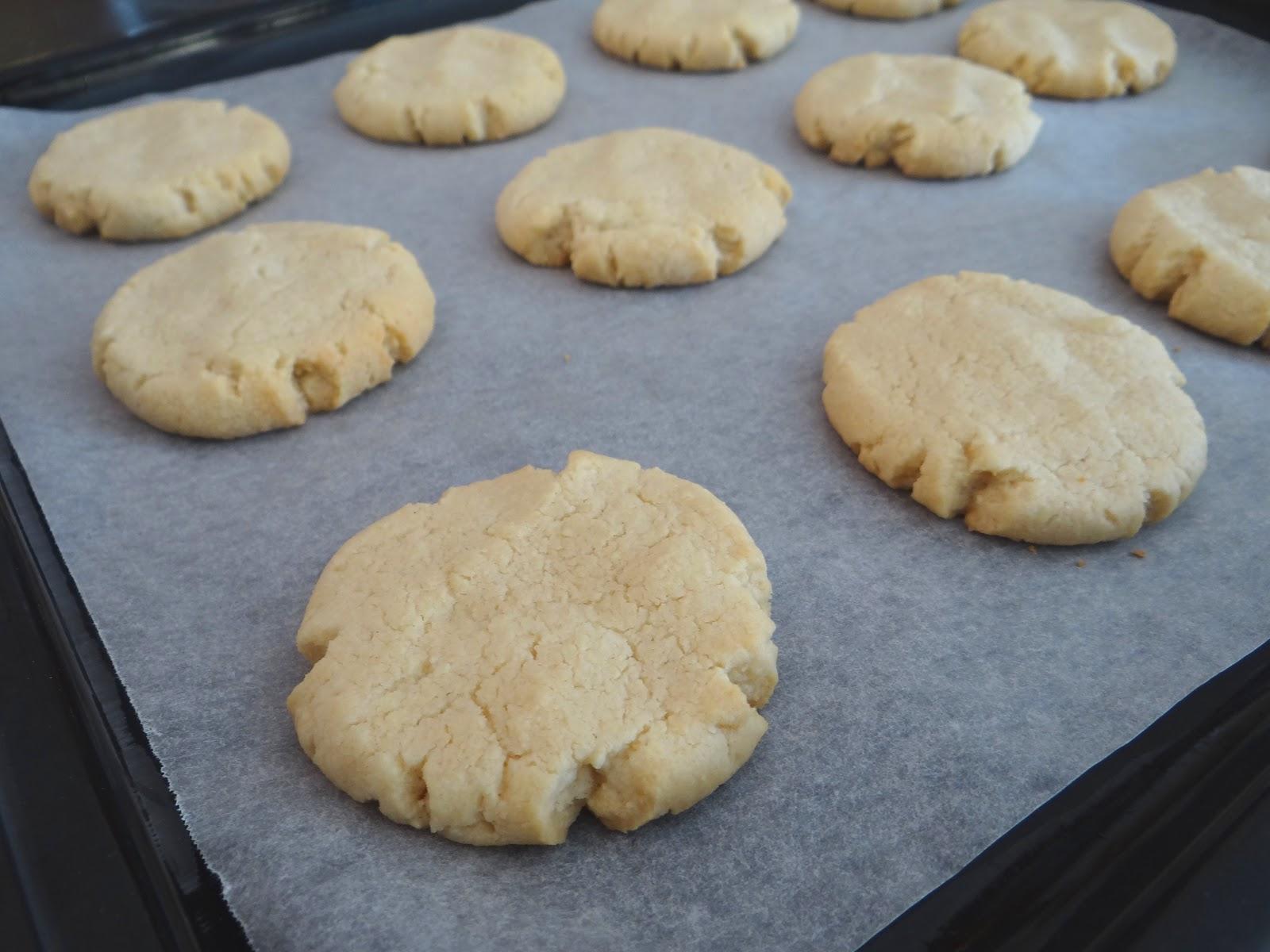 Words & Cake | Bake, Eat, Write, Read: Tahini & Almond Cookies