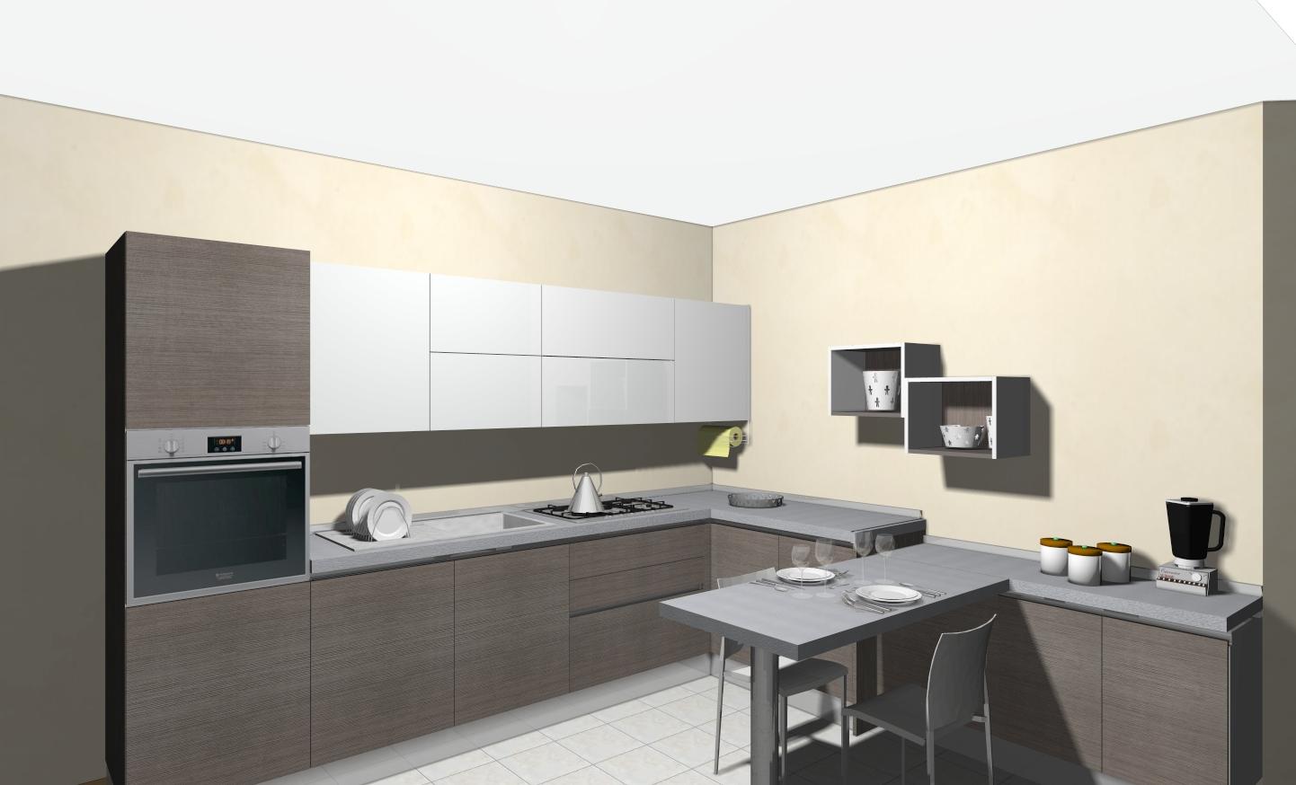 Veneta Cucine Milano | Lissone: Veneta Cucine modello OYSTER e TULIPANO