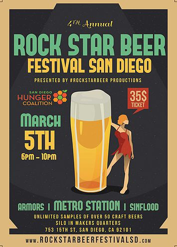 Save on passes & Enter to win VIP tickets to Rock Star Beer Festival