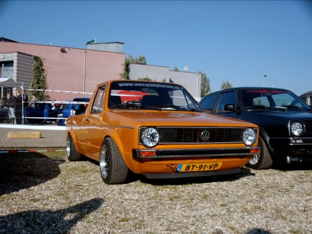 Golf Mk1 Pick up Only Cars Carros Rebaixados Tuning DUB V deos e