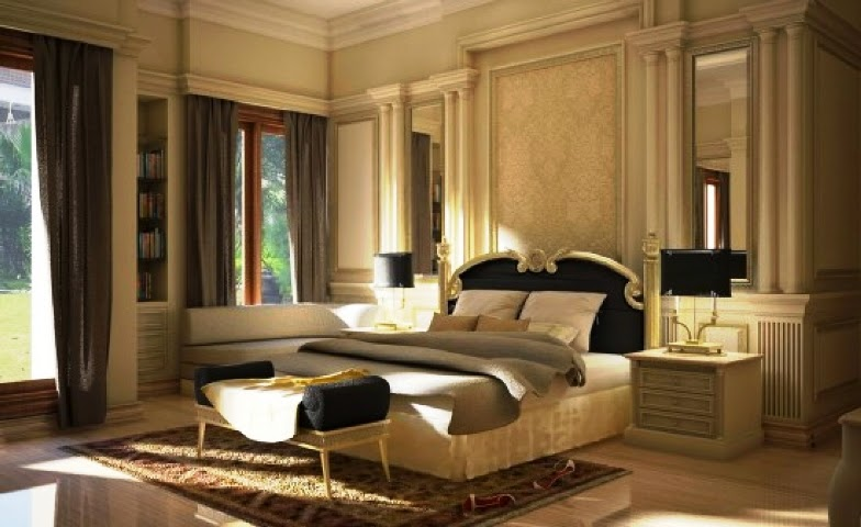 Elegant wall paint colors and decor - Elegant wall paint designs ...