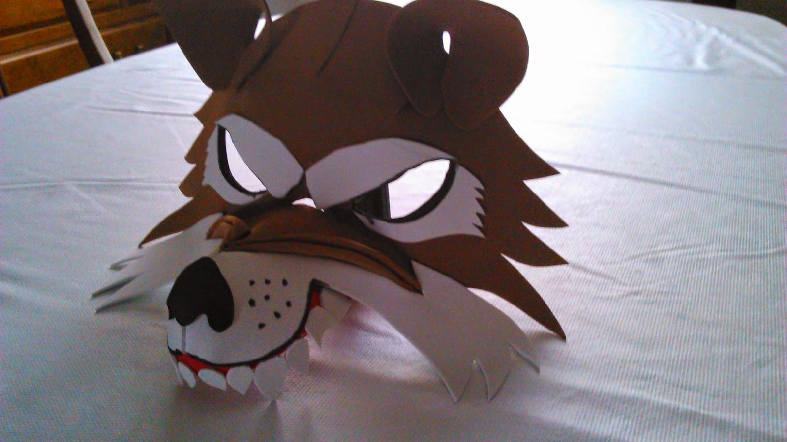 11dbcaf71e3 MANUALIDADES Y CREACIONES XELYNILANDIA  Máscara lobo feroz