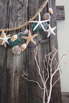 Sea-shell craft for home decoration