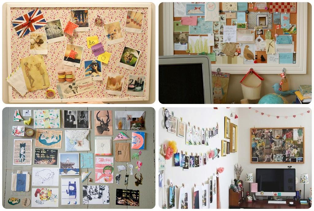 Garota antenada mural de fotos for Como fazer um mural de recados
