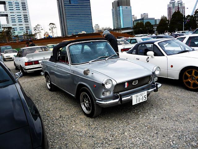 Daihatsu Compagno Spider stary japoński samochód oldschool klasyk