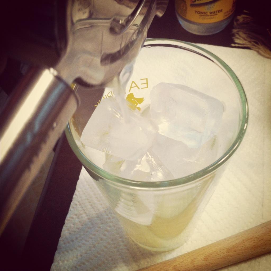 Rainier Cherry Gin and Tonic