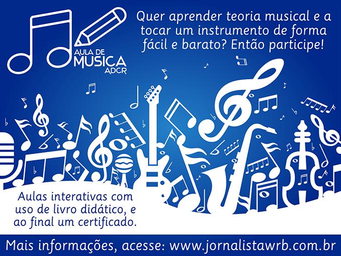 Banda Filarmônica Canaã abre inscrições para Aula de Música ADCR