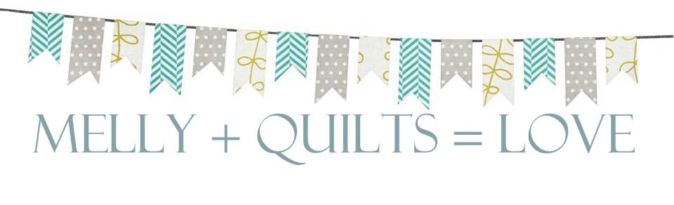 Melly + Quilts = Love
