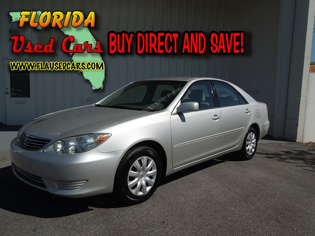 florida used cars for sale cars for sale in florida 2006 toyota camry le for sale low. Black Bedroom Furniture Sets. Home Design Ideas