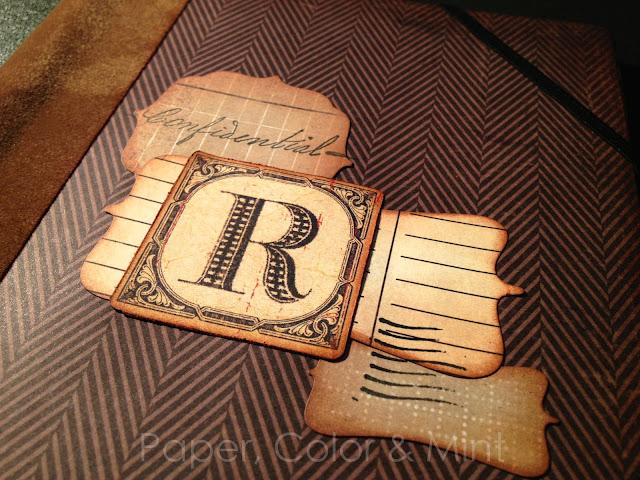Scrap Cuaderno alterado R detalle