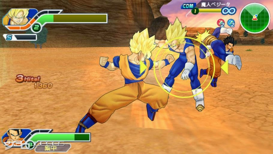 Download Game Ppsspp Dragon Ball Tag Team