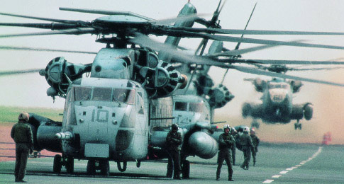 CH-53 Super Stallion Heavy-Lift Helicopter
