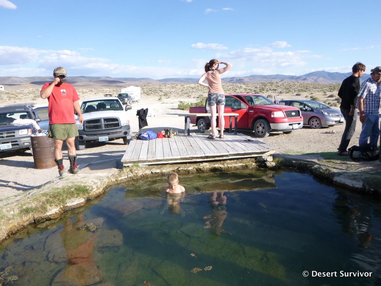 Desert survivor desert hot springs diana 39 s punch bowl for Fish springs nevada