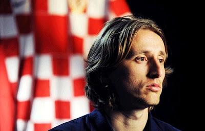 Luka Modric upset