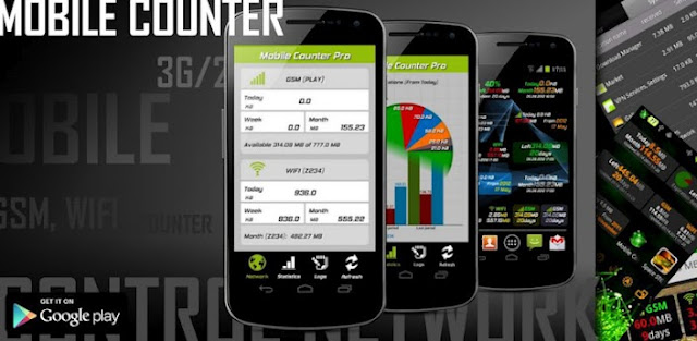 Mobile Counter Pro - 3G, WIFI v2.7 APK